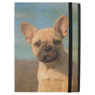 Cute French Bulldog Puppy Vintage Portrait protect iPad Pro Case