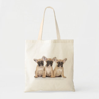 Cute French Bulldogs Tote Bag