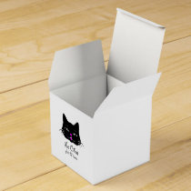 Cute French Cat Says Meow! Favor Box