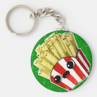 Cute French Fries Keychain