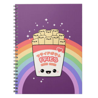 Cute French Fries Notebook