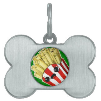 Cute French Fries Pet Tags
