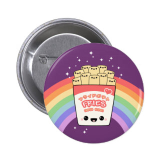 Cute French Fries Pinback Button