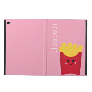 cute french fry with pink background powis iPad air 2 case