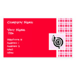 Cute French Horn Business Cards