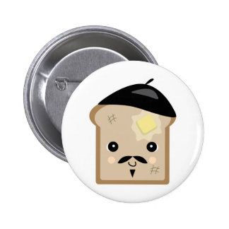 cute french toast button