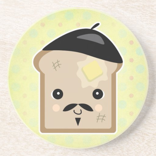 Cute French Toast Drink Coaster Zazzle