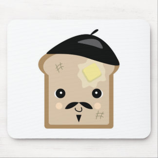 cute french toast mouse pad
