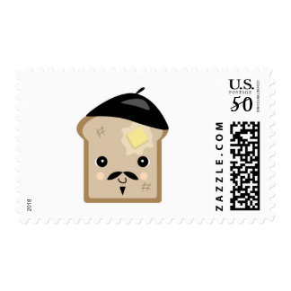 cute french toast postage