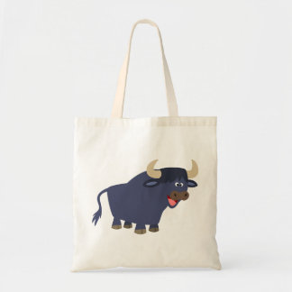 Cute Friendly Cartoon Bull Bag
