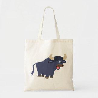 Cute Friendly Cartoon Bull Bag