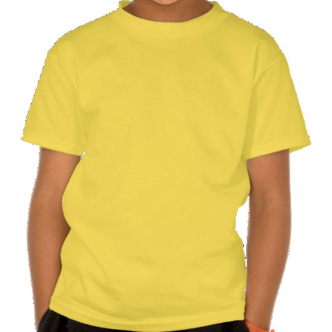 Cute Friendly Cartoon Hyena Children T-Shirt