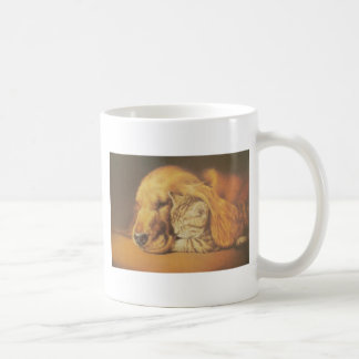 Cute Friendly Cat & Dog Hakuna Matata Gift Relatio Coffee Mug