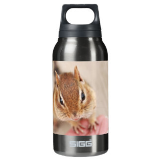 Cute Friendly Chipmunk Insulated Water Bottle