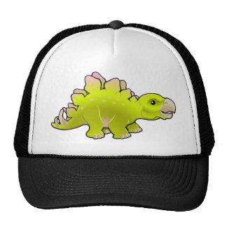 cute friendly stegosaurus hat