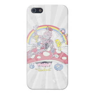 cute friendly zombie bliss vector cartoon case for iPhone 5