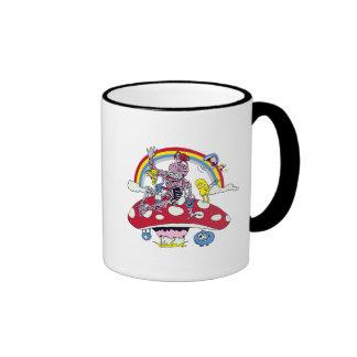 cute friendly zombie bliss vector cartoon ringer coffee mug