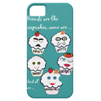 Cute friends cupcakes iphone covers iPhone 5 covers