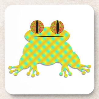 Cute Frog Beverage Coaster