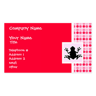 Cute Frog Business Card