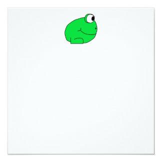 Cute Frog. Card
