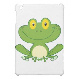 Cute Frog Cartoon Character iPad Mini Cover