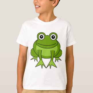 Cute Frog Cartoon Kids T-Shirt