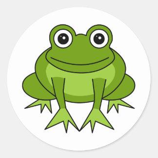 Cute Frog Cartoon - Prince in Training Classic Round Sticker
