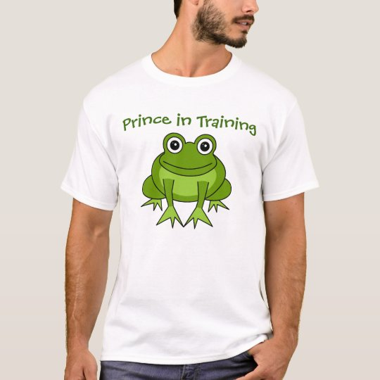 Cute Frog Cartoon - Prince in Training T-Shirt