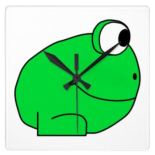 Cute Frog. Clocks