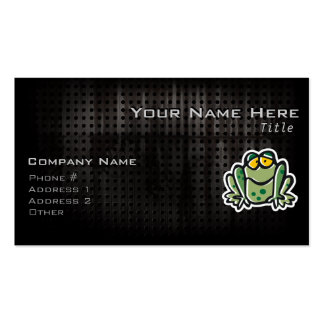Cute Frog; Cool Business Card