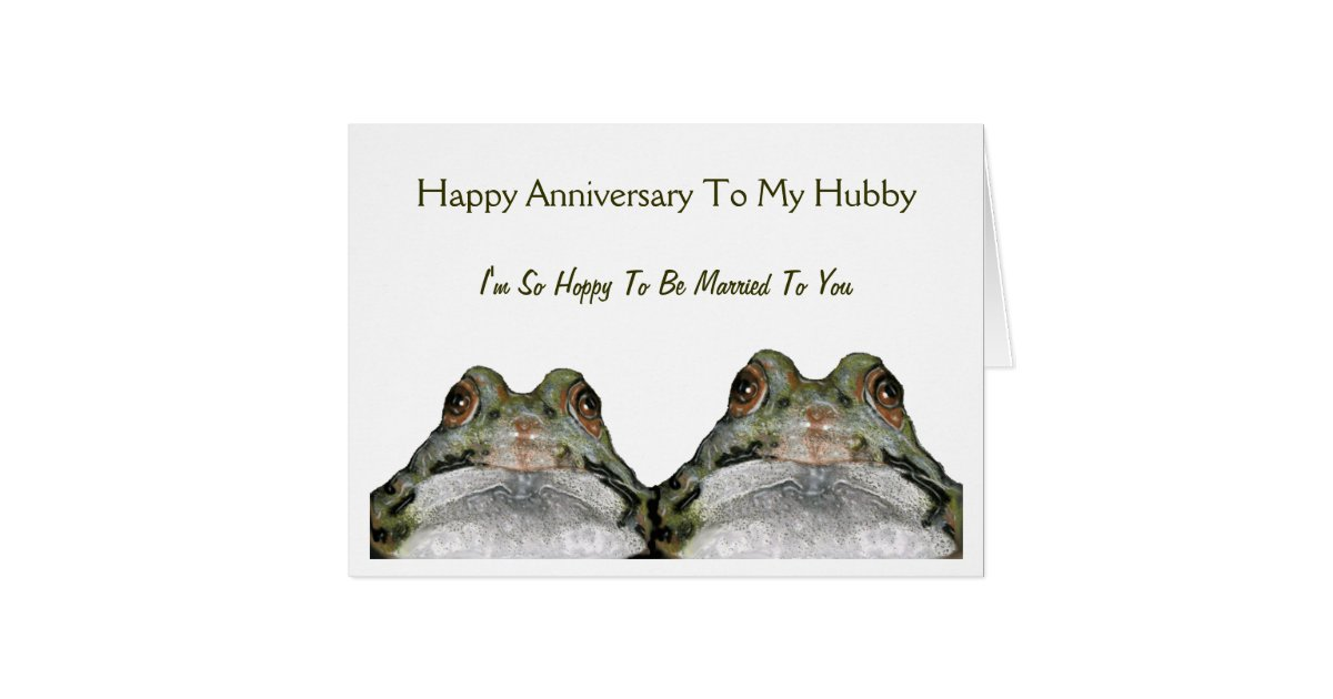 Frog Couple Greeting Cards | Zazzle