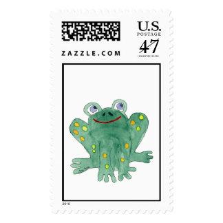 Cute Frog Custom Postage