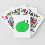 Cute Frog. Deck Of Cards