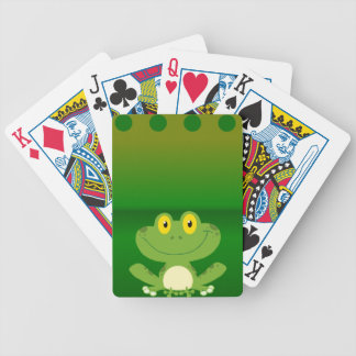 Cute Frog Design Card Deck