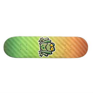 Cute Frog Design Custom Skateboard