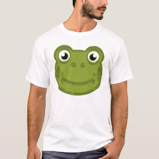 Cute Frog Face T-Shirt