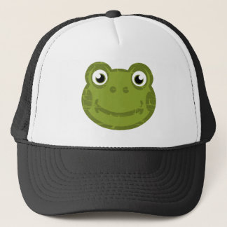 Cute Frog Face Trucker Hat