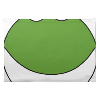 Cute Frog Head Placemat