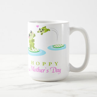 Cute Frog Hoppy Happy Mother's Day Coffee Mug