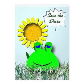 Cute Frog Invite