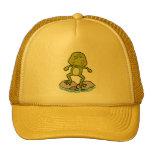 Cute frog mesh hats