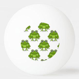 Cute Frog Pattern Ping-Pong Ball