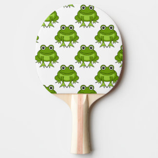 Cute Frog Pattern Ping Pong Paddle