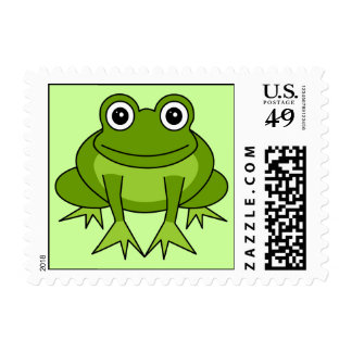 Cute Frog Postage