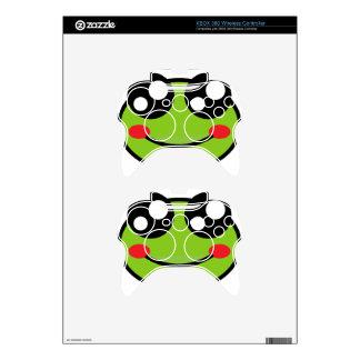 Cute Frog Xbox 360 Controller Skin