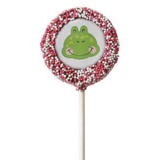 Cute Froggie | Chocolate Dipped Oreo Pops