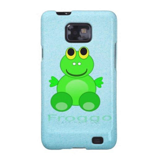 Cute Froggo Frog Galaxy SII Covers