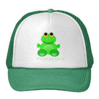 Cute Froggo Frog Trucker Hat