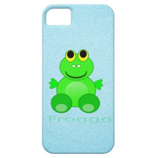 Cute Froggo Frog iPhone 5 Covers